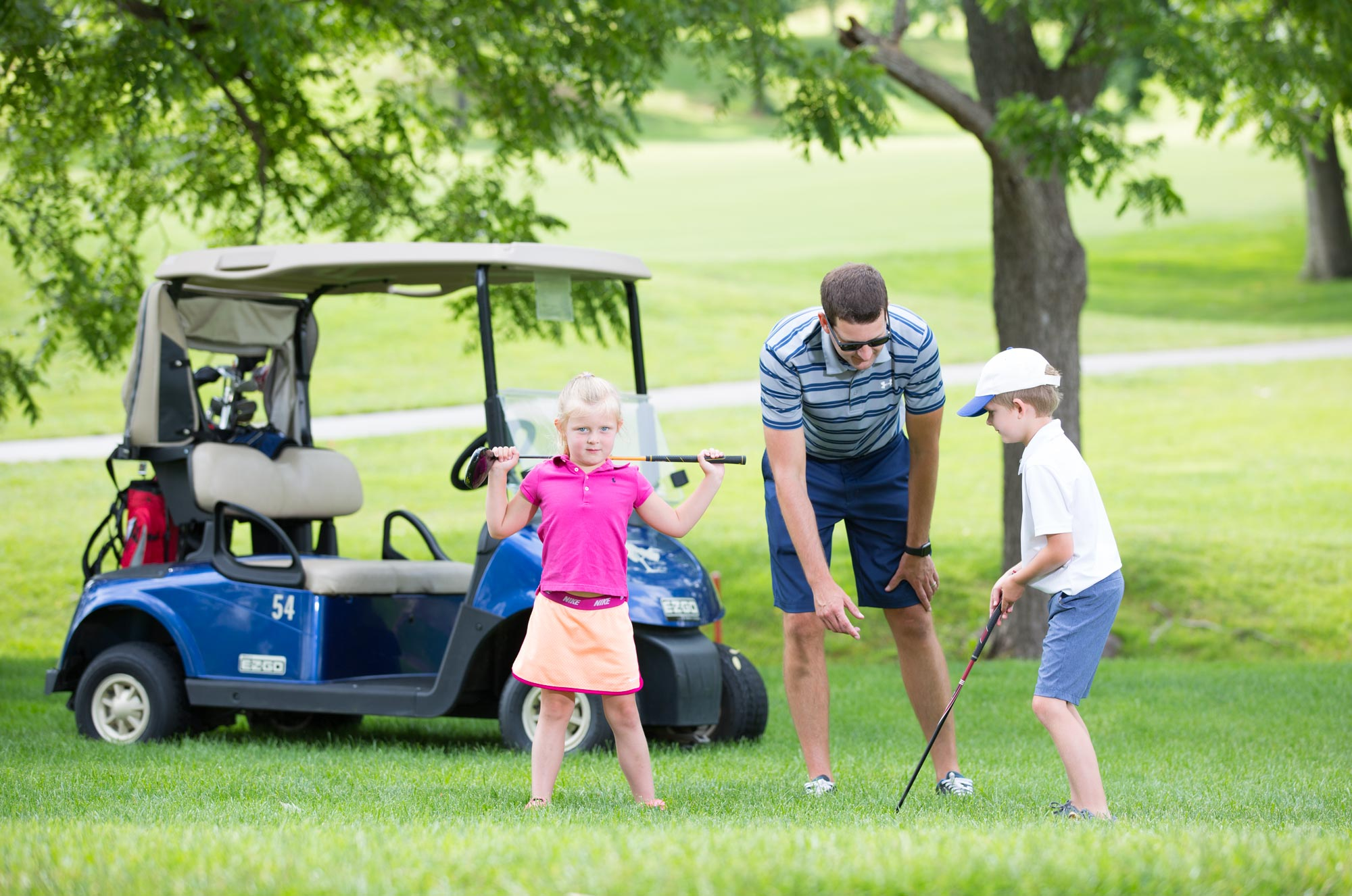 Family Golf Membership